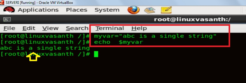 Quotes in Bash Shell Scripting » Vasanth Blog
